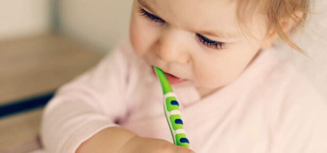 Higiene dental en bebés