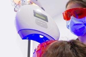 Tratamiento en clínica para blanquear