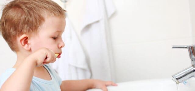 Flúor en niños