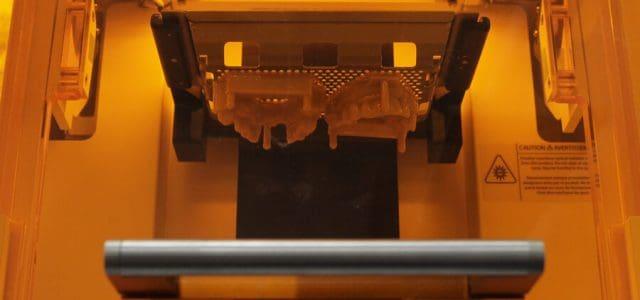 Molde de trabajo hecho con impresora 3D