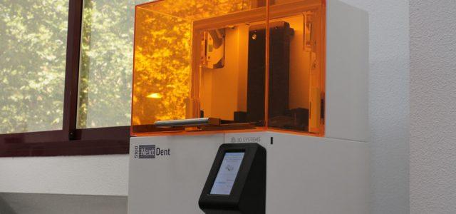 La impresora confecciona prótesis