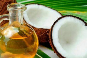 Enjuague con aceite de coco