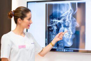 Radiación en las pruebas dentales