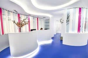 Recepción clínica dental en Madrid