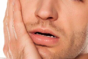 Curar un flemón en la boca
